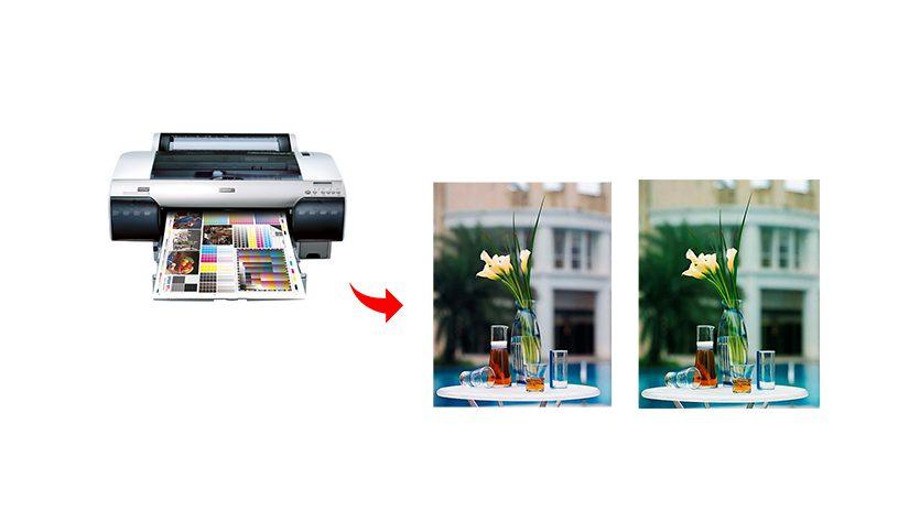 攝影師任務之印表機色彩